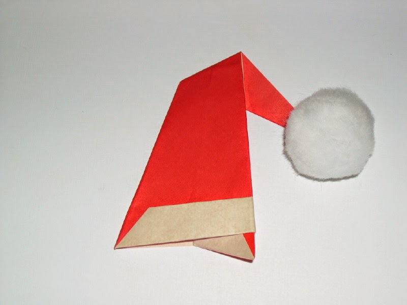 Origami Santa Claus – Oodles of Glitter | 600x800
