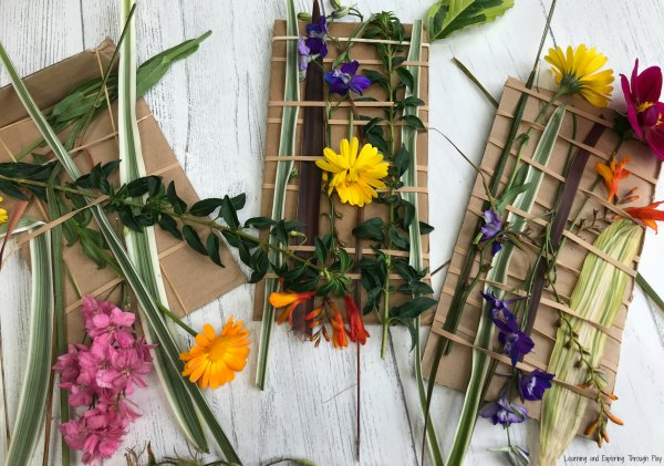 Nature Weaving - Forest School