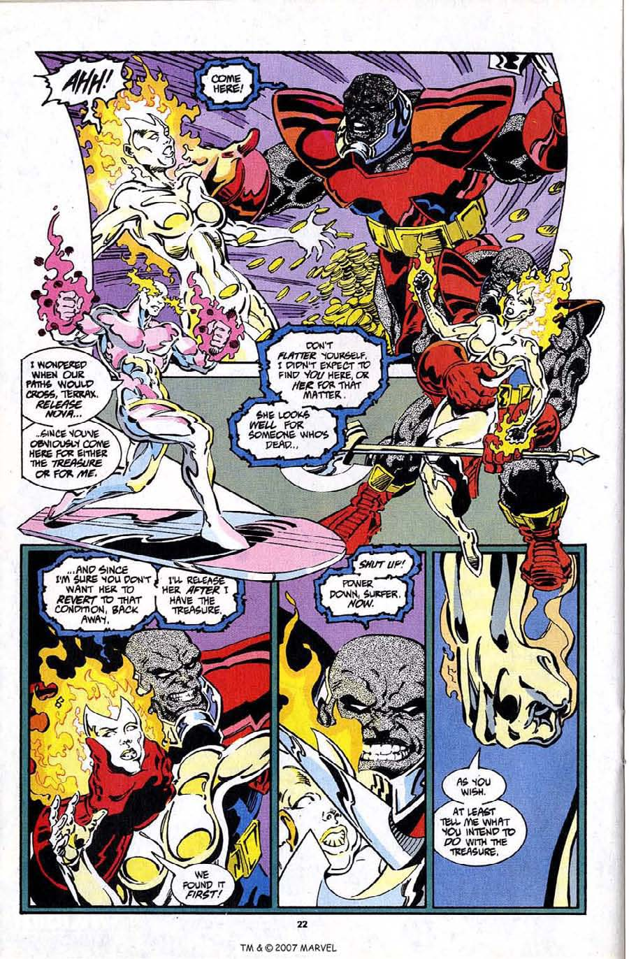 Read online Silver Surfer (1987) comic -  Issue #97 - 24