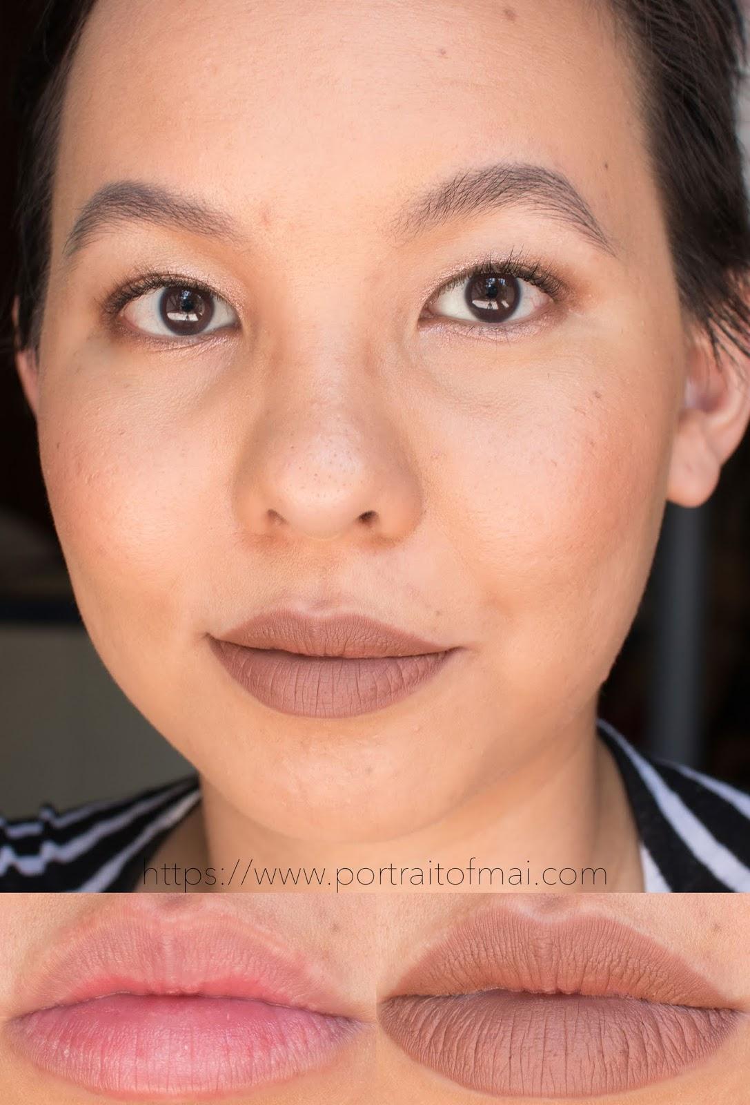 Nudestix Boho Magnetic Matte Lip Color Swatch