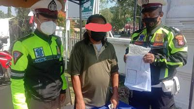 Penjual Formulir Pendaftaran Vaksin Covid-19 diamankan Polisi Serang Kota