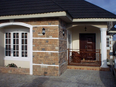 cobble stones installed on a bungalow
