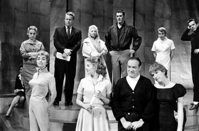 Los ensayos para la ceremonia de los Premios Oscar de 1958