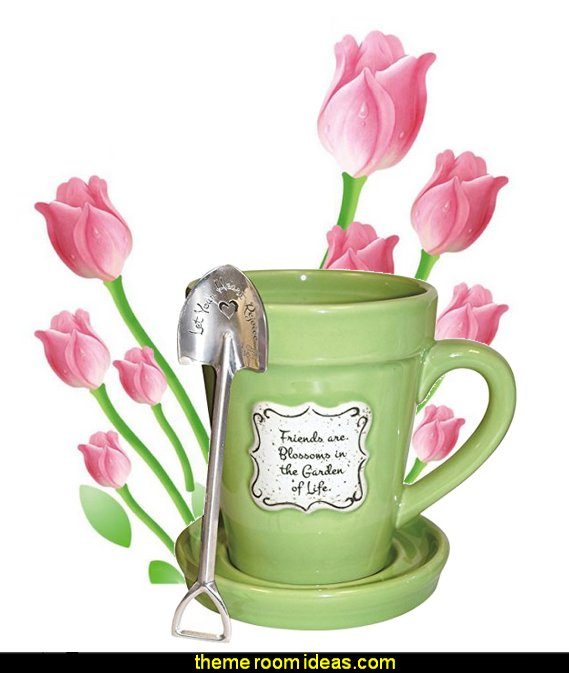 Flowerpot Mug - fun gift idea for the lady gardener