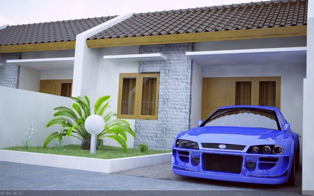 model rumah type 21 modern yang indah