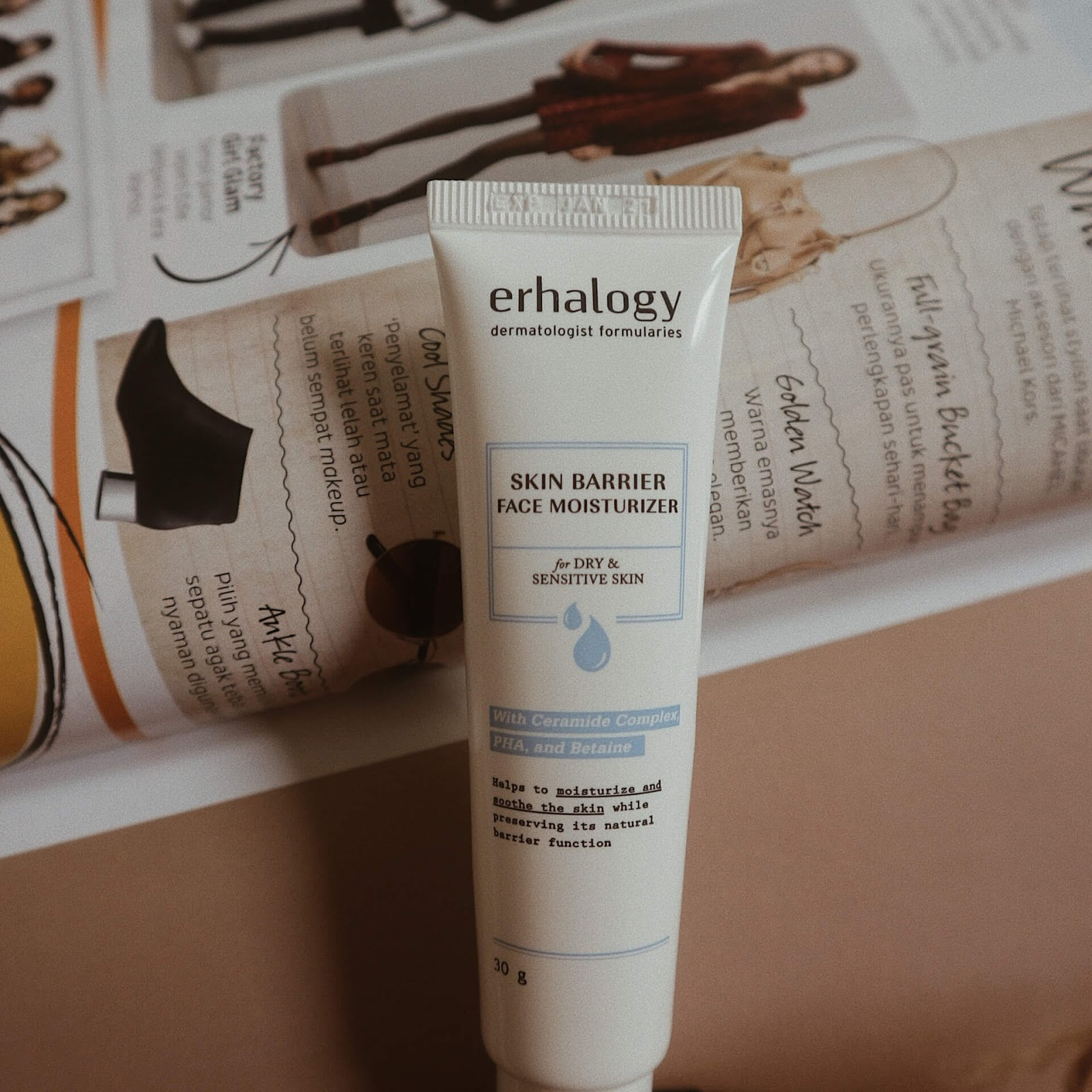 Erhalogy Skin Barrier Face Moisturizer