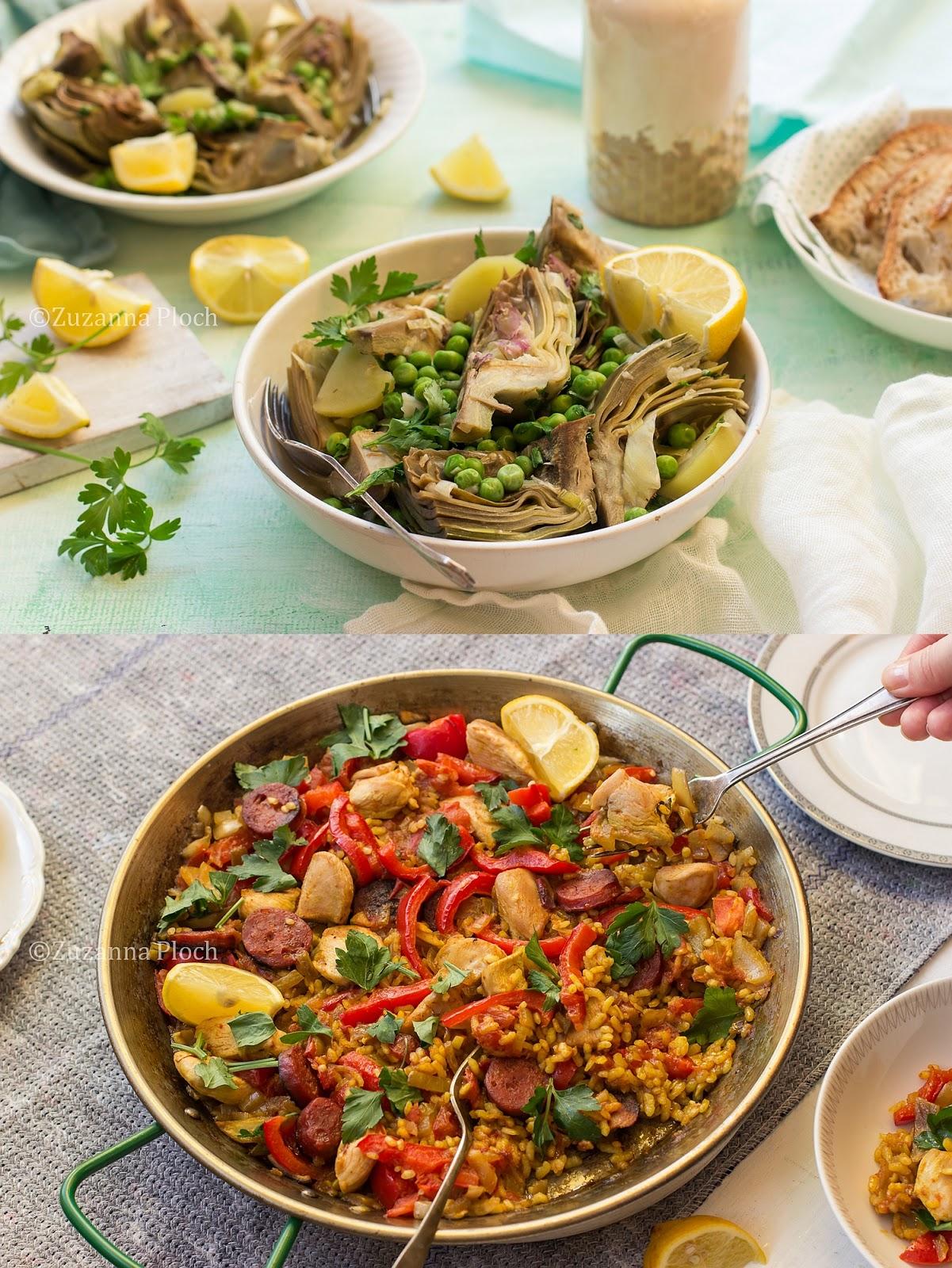 Regionalne przepisy - zdjęcia potraw i z procesu przygotowania