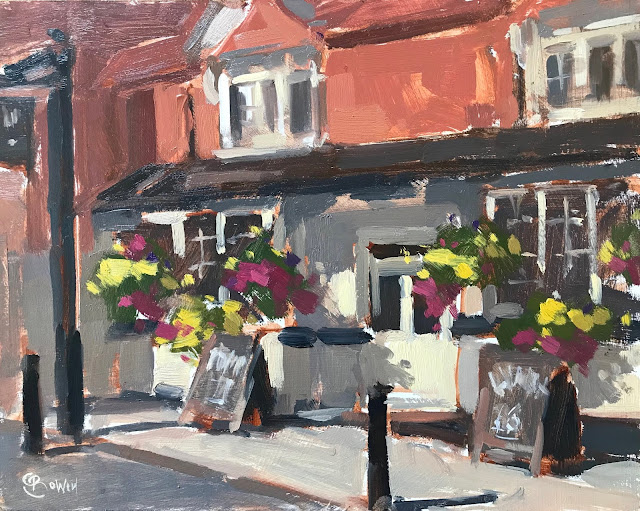 #365 'The Swan Inn, Haslemere' 8×10″