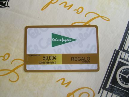 Tarjeta Regalo Spotify El Corte Ingles