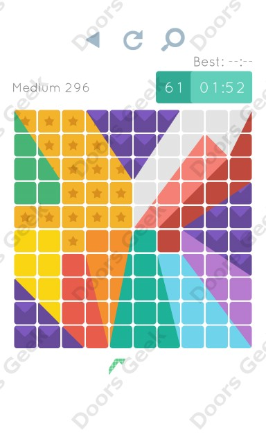Cheats, Walkthrough for Blocks and Shapes Medium Level 296