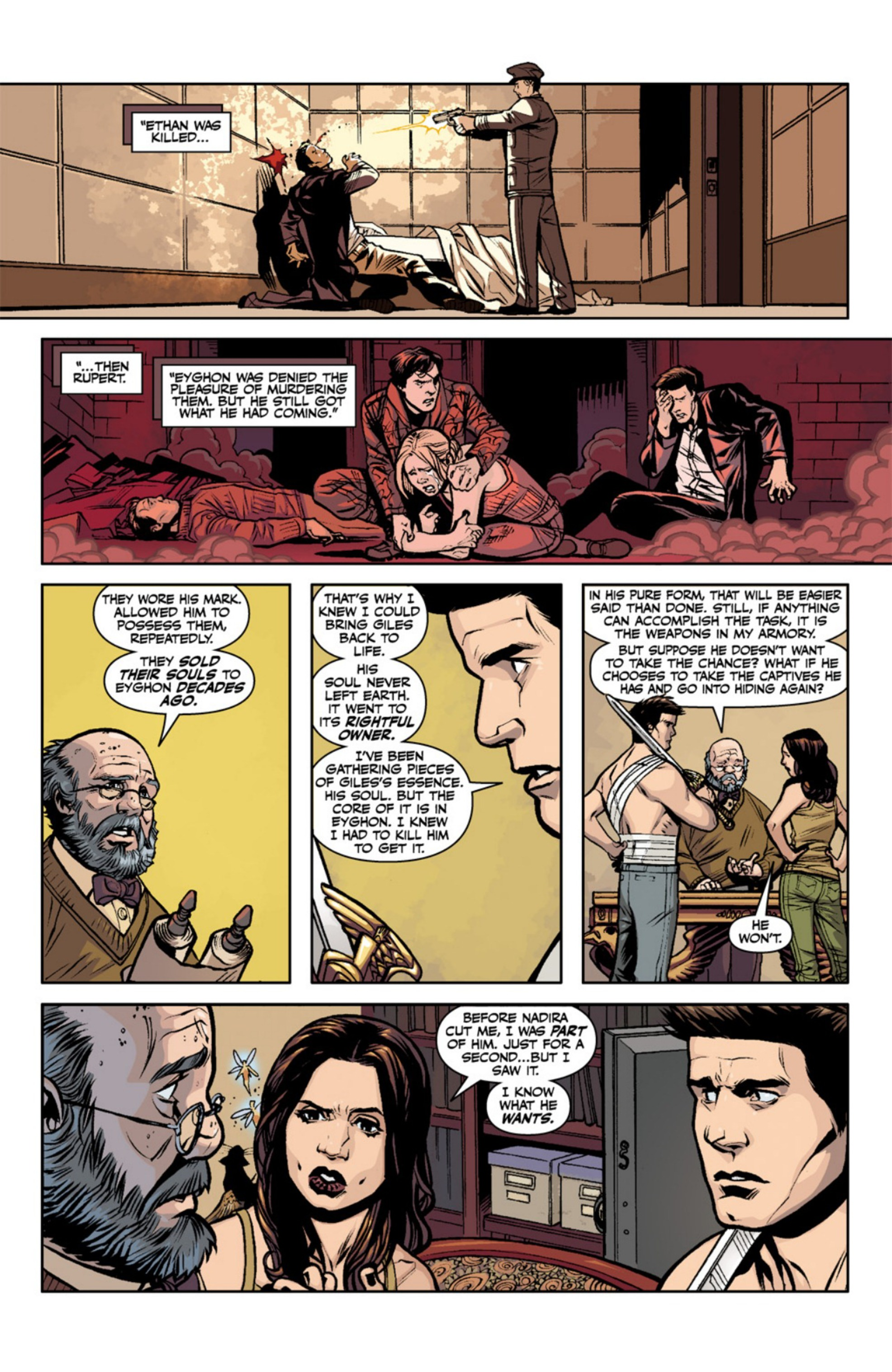 Read online Angel and Faith comic -  Issue #18 - 21