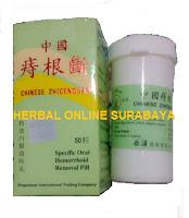 Jual Paket WASIR/AMBEYEN Obat China Xiong Dan Zhi Cuang/Chinese Zhigenduan Pengobatan Wasir/Ambeyen/Hemorrhoid.