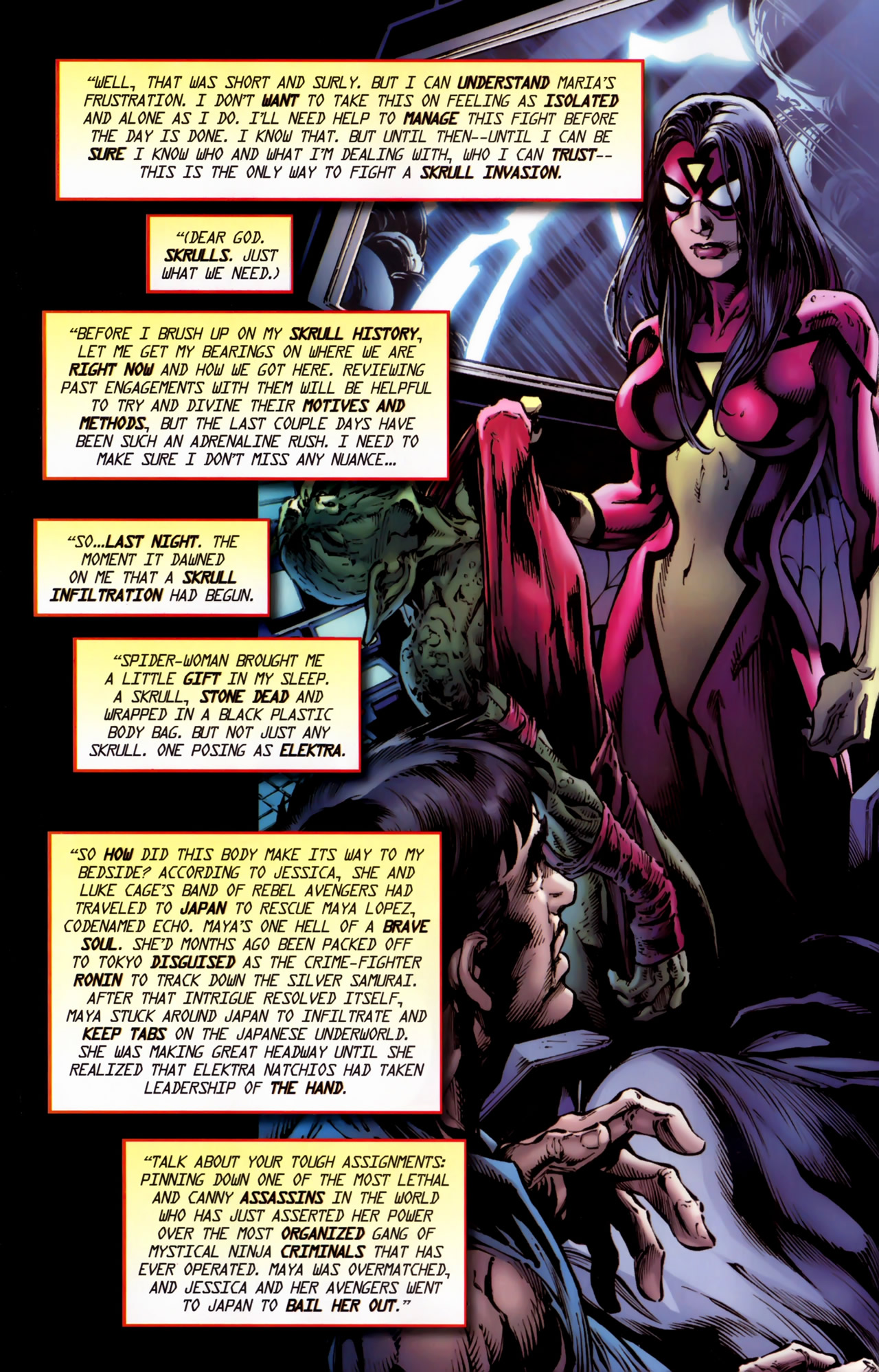 Read online Secret Invasion: The Infiltration comic -  Issue #11 - 4