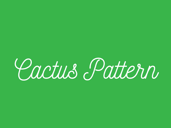 Download Cactus Vector Pattern Free