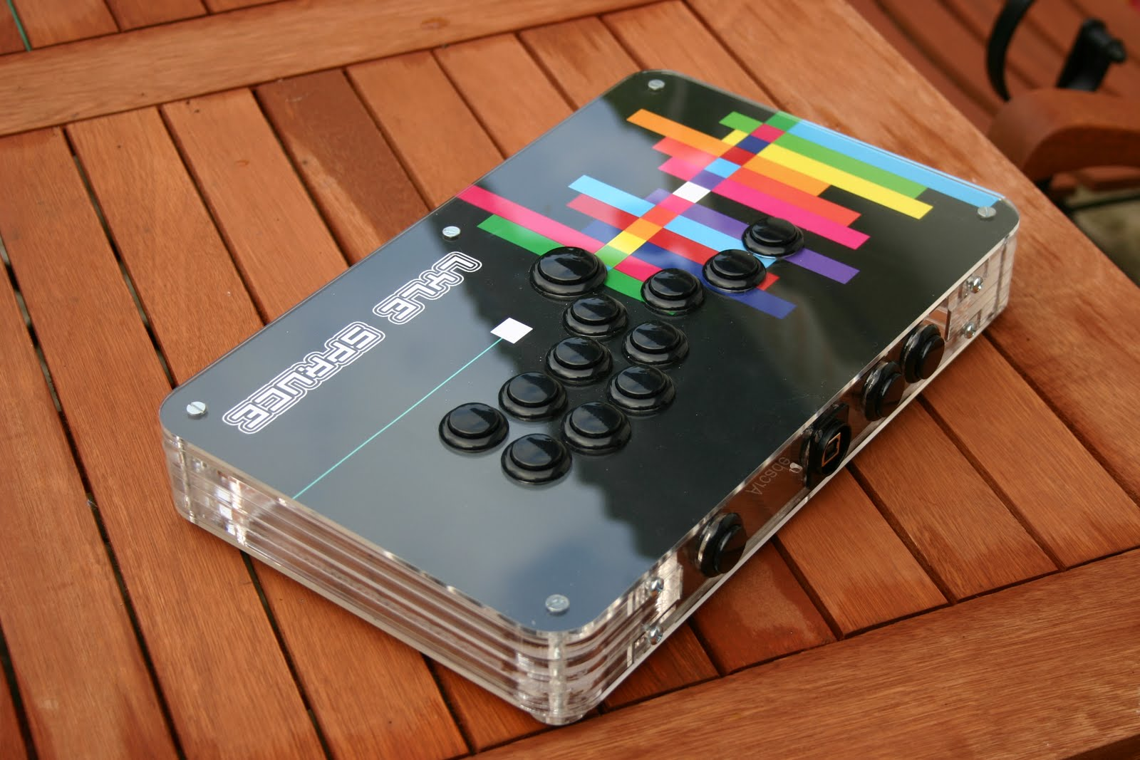 Arcade And Video Game Modding New Acryl Case Lyle Spruce