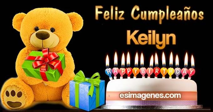 Feliz Cumpleaños Keilyn