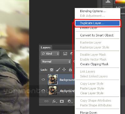 Tutorial gampang cara menciptakan smudge Painting di Photoshop Tutorial Praktis Cara Membuat Smudge Painting di Photoshop