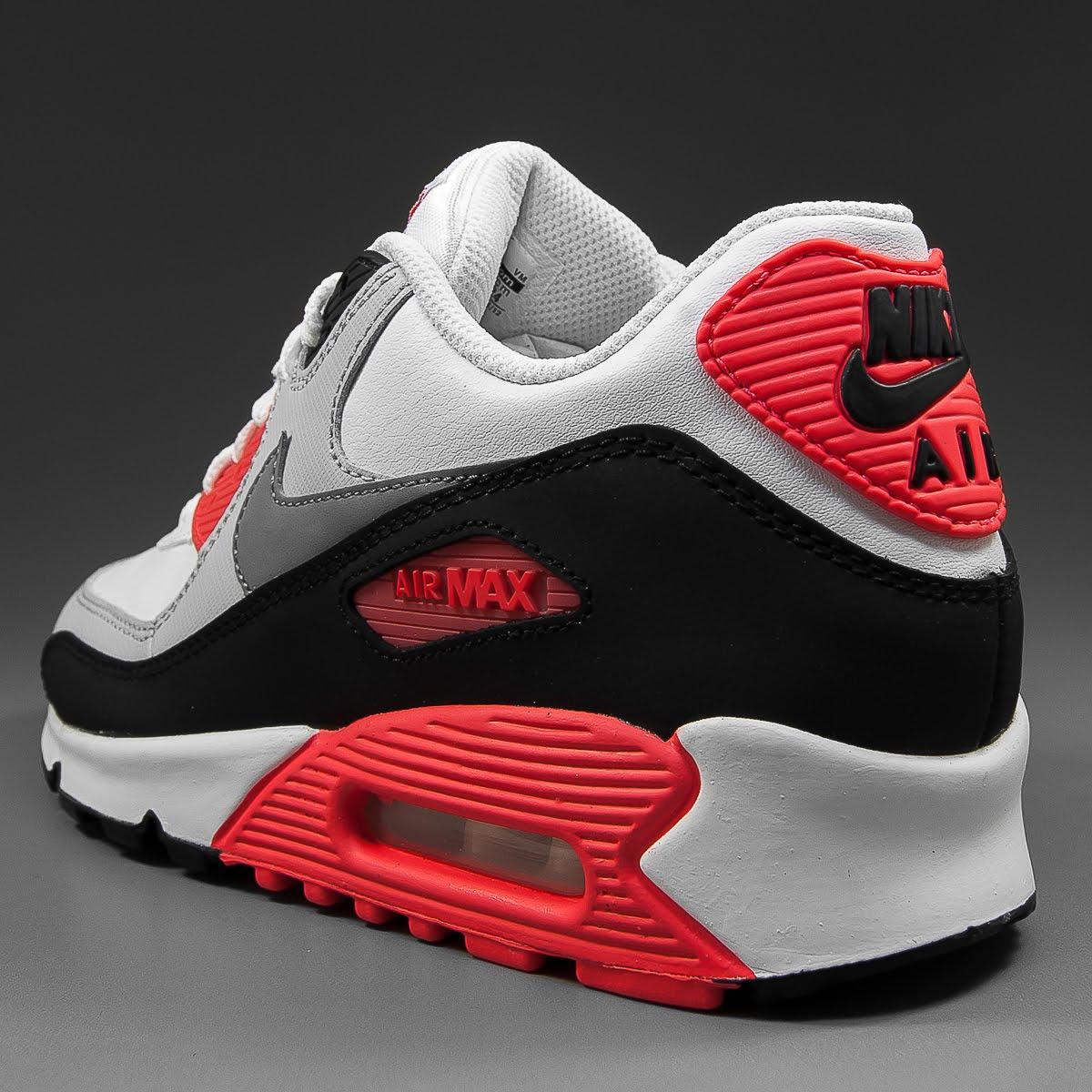 Solekitchen Nike Air Max 90 Gs Og White Grey Infrared