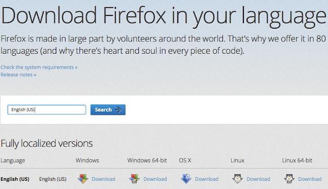 Firefox Offline Installer in Your Language download
