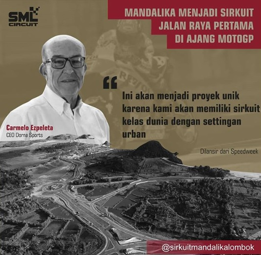Sirkuit Mandalika MotoGP 2021