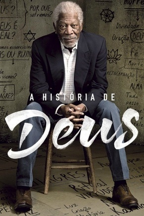 A História de Deus com Morgan Freeman - 1ª Temporada Séries Torrent Download capa