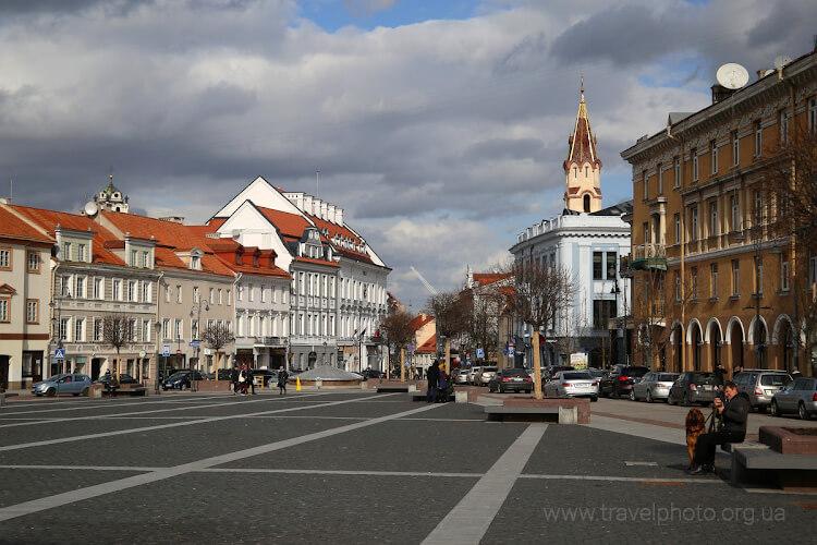 Ратушная площадь Вильнюс