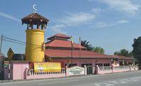 Masjid ini pernah menjadi masjid negeri..