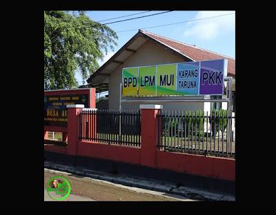 Neon Box Kelembagaan telah terpasang di Desa Simpar, Kecamatan Cipunagara