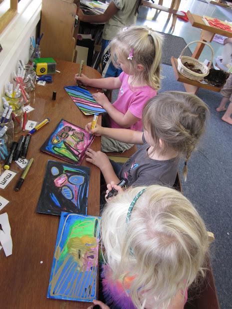 Kindergarten Art Work