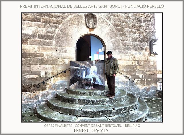 PREMI-PINTURA-INTERNACIONAL-SANT JORDI-FUNDACIÓ PERELLÓ-BELLPUIG-CONVENT-SANT BARTOMEU-PINTURES-FINALISTES-FOTOS-PINTOR-ERNEST DESCALS-