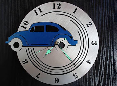 Volkswagen Beetle Wall Clock