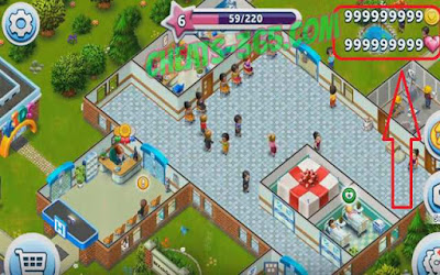 لعبة My Hospital كاملة للأندرويد، لعبة My Hospital مكركة، لعبة My Hospital مود فري شوبينغ