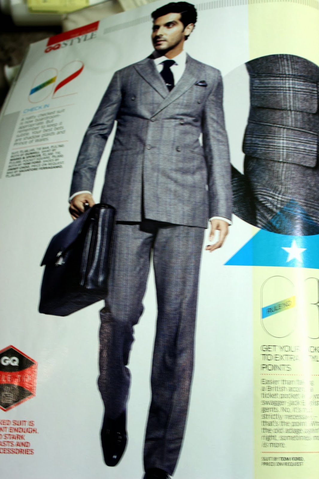 2c58a92e046 Photoshoot of ZayedKhan in Office-Style Suits for GQ - Shopping ...