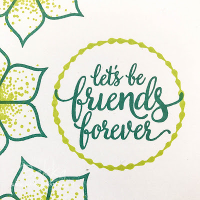Fast & Fabulous Friendship Card featuring the Eastern Beauty Stamp Sets from Stampin' Up! UK - buy it here