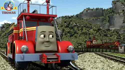 Race To The Rescue Thomas Train And Friends Flynn Fire Engine
