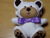Cara Membuat Boneka Beruang dari Kain Flanel Berserta Gambarnya