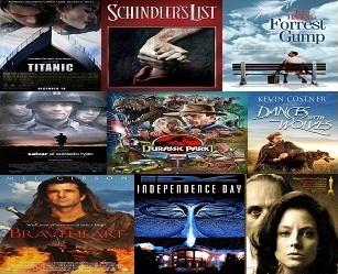 A 90-es évek legjobb filmjei, 90-es évek film top listák