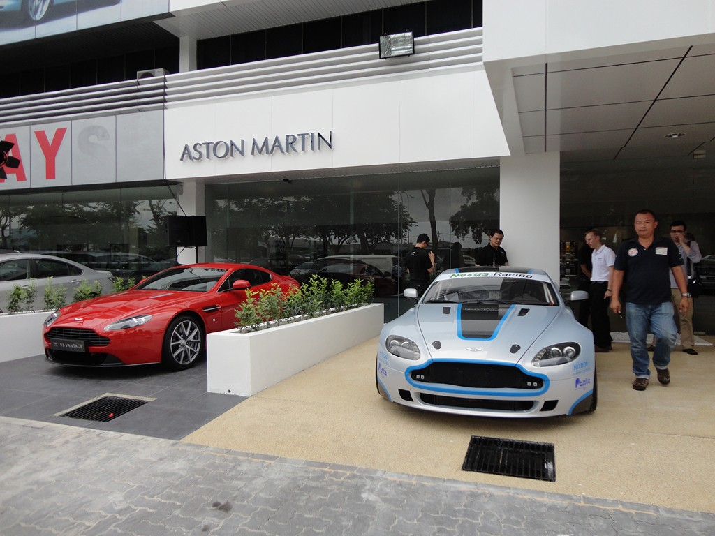 motoring-malaysia: aston martin kuala lumpur opens its doorsand