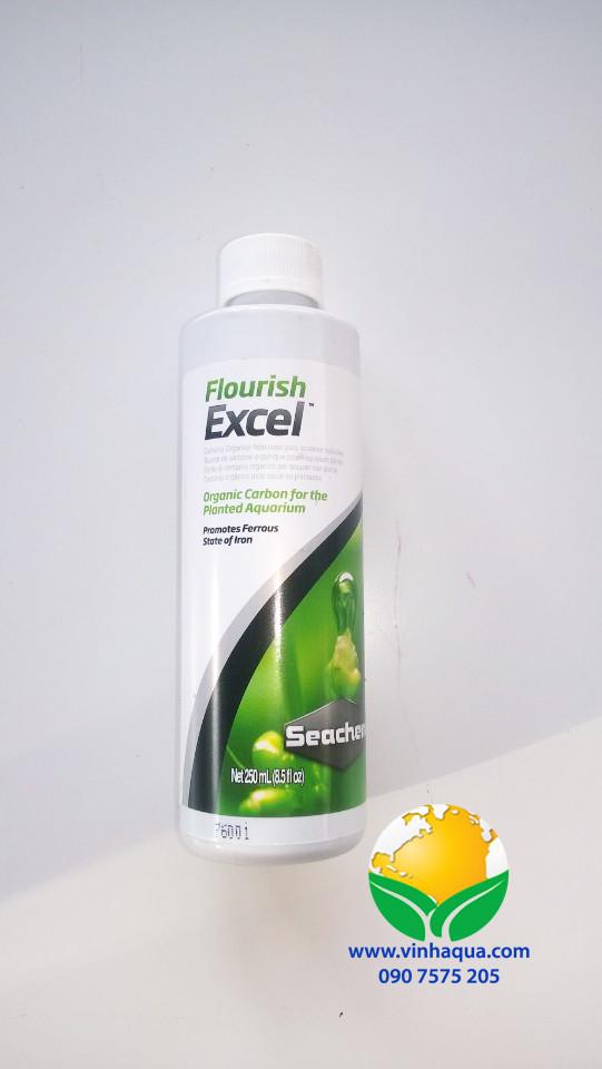 Phân nước bổ sung CO2 cho cây thủy sinh Seachem Flourish Excel
