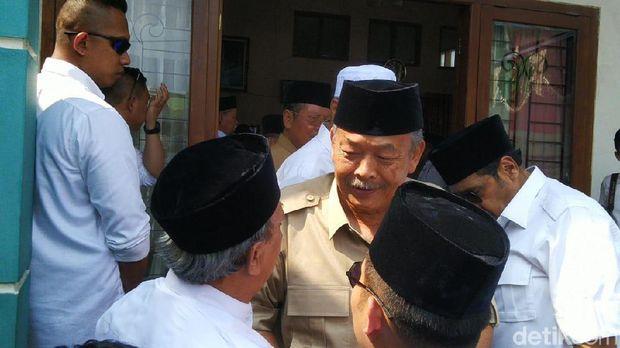 Mantan Gubernur Jateng ini Kampanyekan Prabowo, Suara Banteng Terbelah