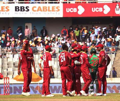 Shai Hope ton helps Windies win against Bangladesh in Dhaka