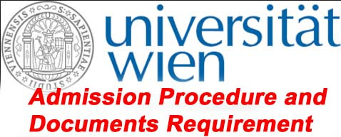 University of Vienna Admission Procedure and Documents Requirement for Master degree programme