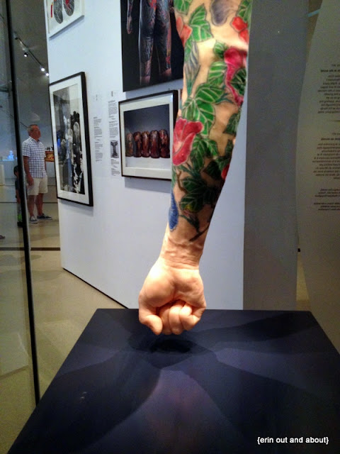 {Erin Out and About} Tattoos at the ROM