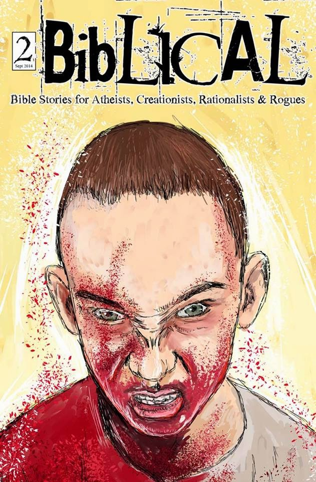 Biblical Comics Cover