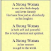 best strong woman poem 2019