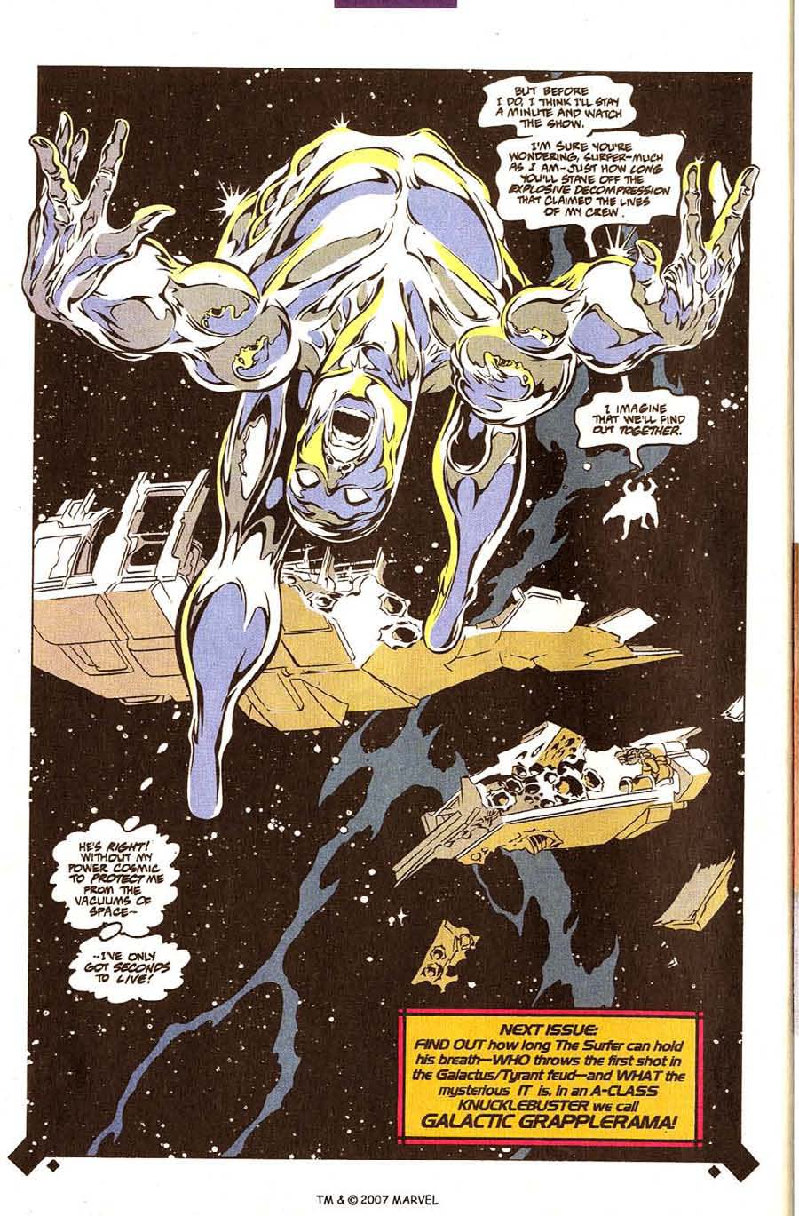 Read online Silver Surfer (1987) comic -  Issue #107 - 34