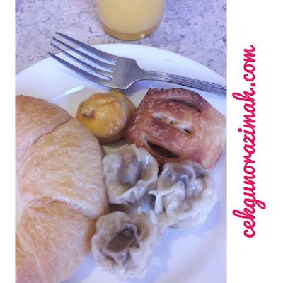 makanan western, makanan eastern, hotel armada pj, buffet breakfast