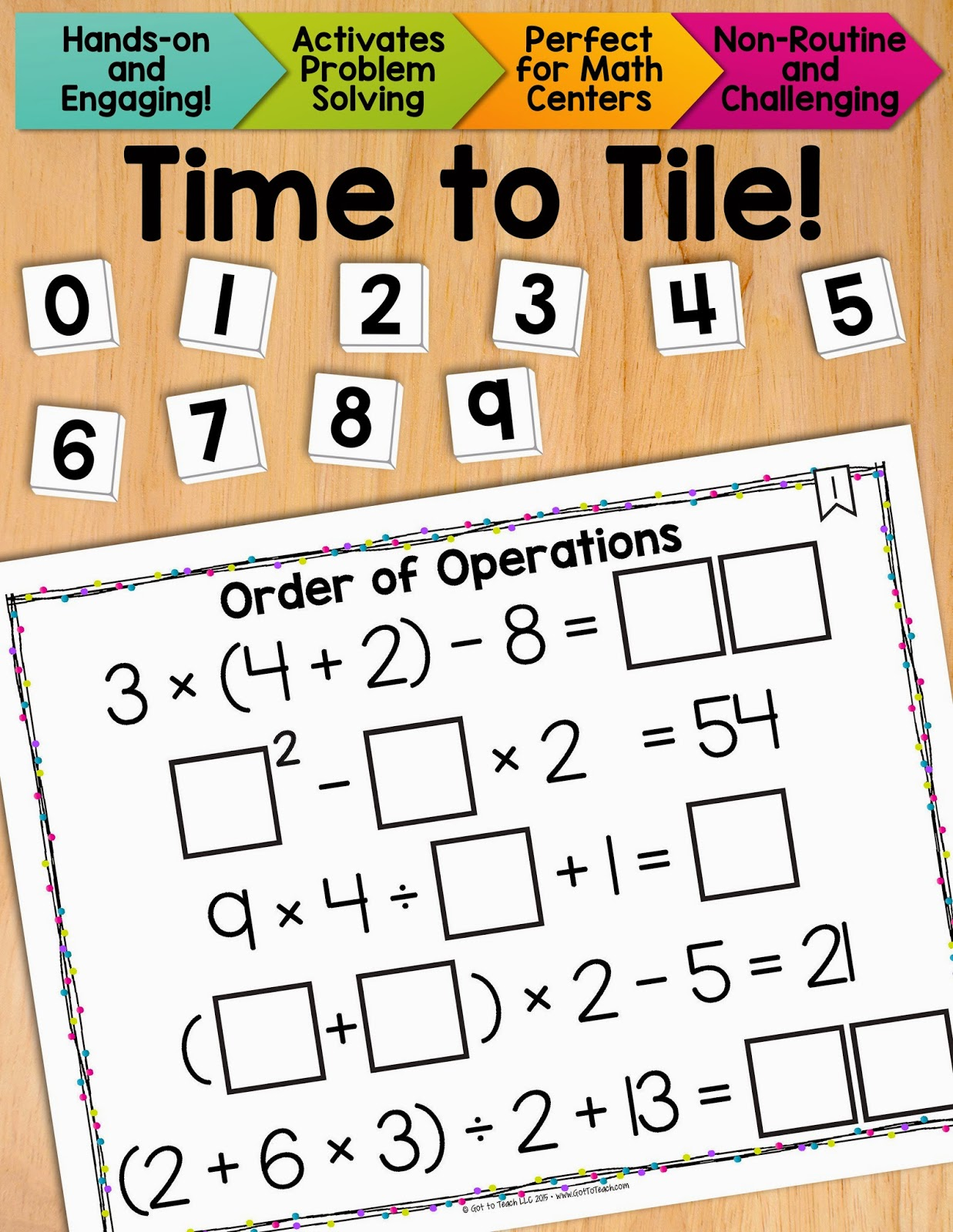 order of operations Order of operations can be frustrating to teach, but it doesn't have to be there's no question that this is an extremely challenging topic for elementary students.