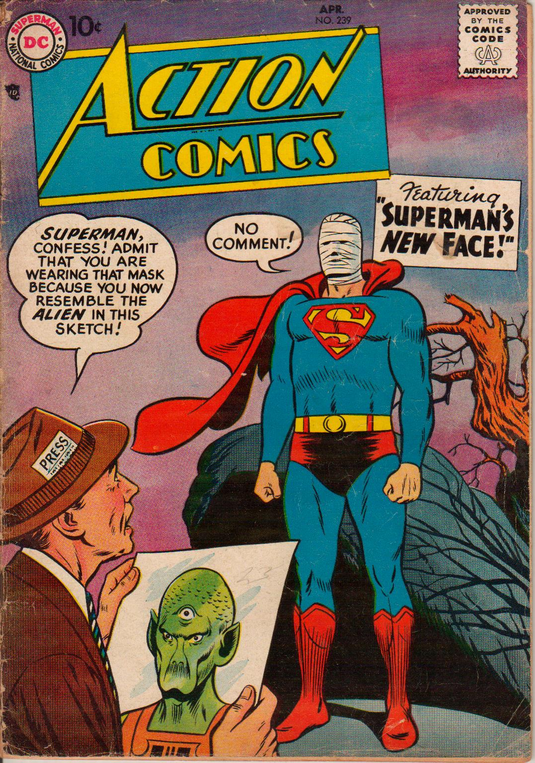 Read online Action Comics (1938) comic -  Issue #239 - 1