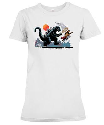 Catching Kaiju Godzilla T Shirt Hoodie Sweatshirt. GET IT HERE